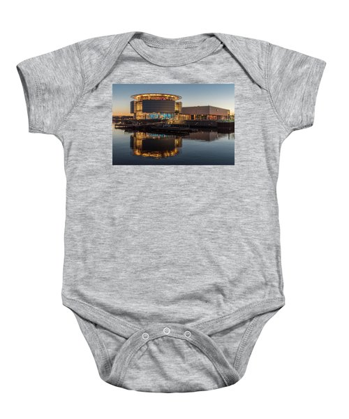 Baby Onesie featuring the photograph Discovery World by Randy Scherkenbach