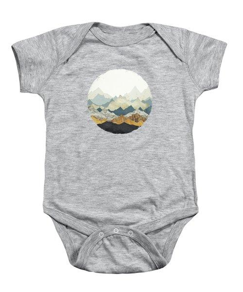 Distant Peaks Baby Onesie
