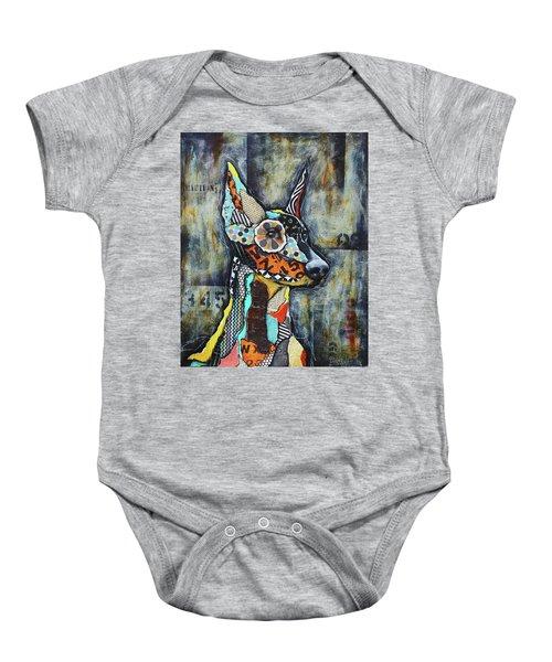 Doberman Pinscher Baby Onesie
