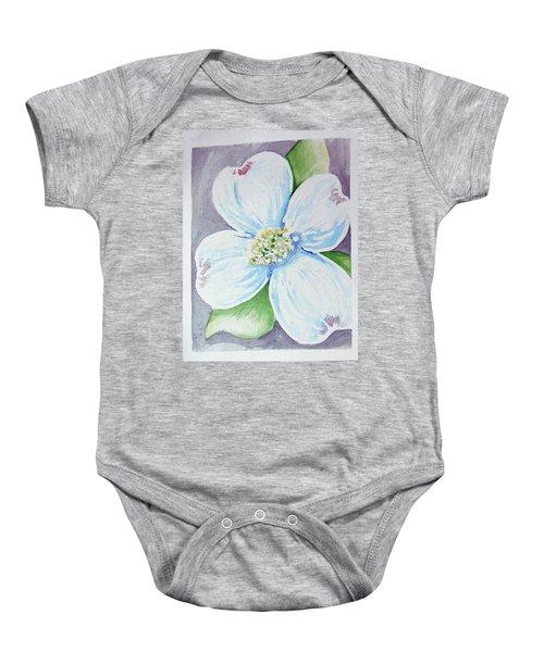 Dogwood Bloom Baby Onesie