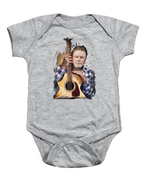 Don Henley Baby Onesie by Melanie D