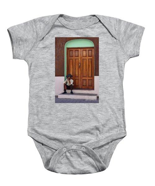 Door In Guatemala Baby Onesie