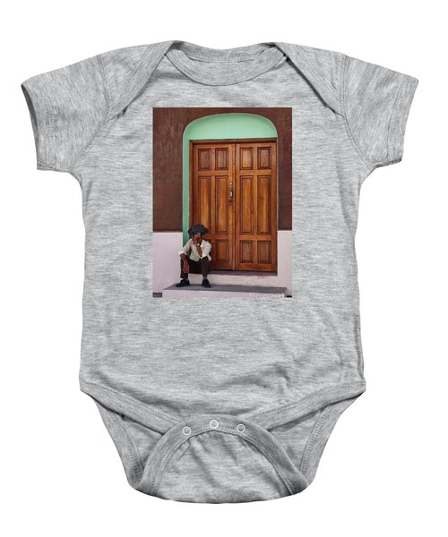 Door In Guatemala Baby Onesie