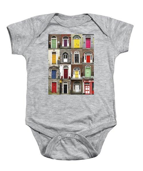 Doors Of Limerick Baby Onesie
