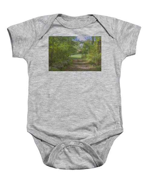 Down From The Mansion Baby Onesie