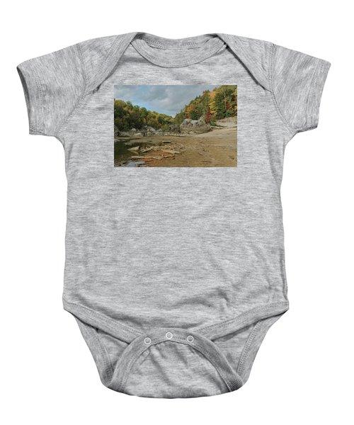 Downstream From Cumberland Falls Baby Onesie