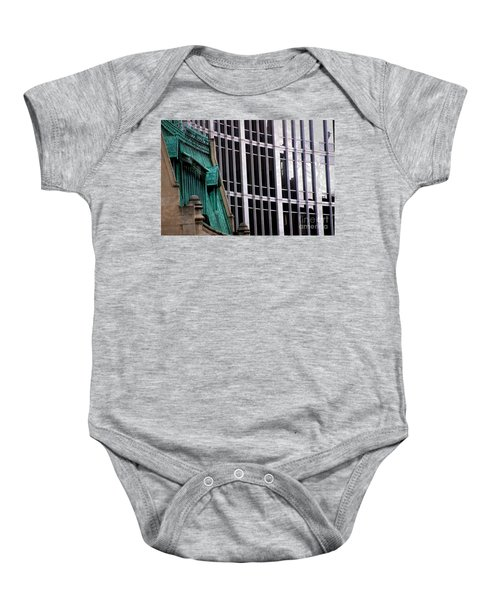 Downtown Indy Baby Onesie