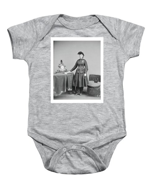 Dr. Mary Walker Baby Onesie