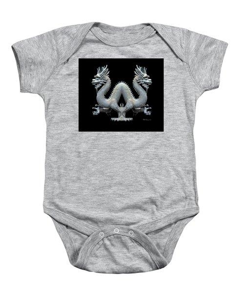 Dragon Double Trouble 1 Baby Onesie