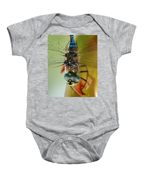 Dragonfly In Thought Baby Onesie