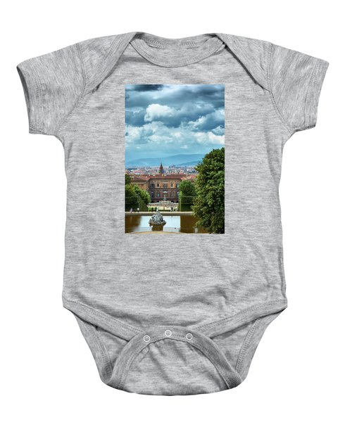 Drama In The Palace Of Firenze Baby Onesie