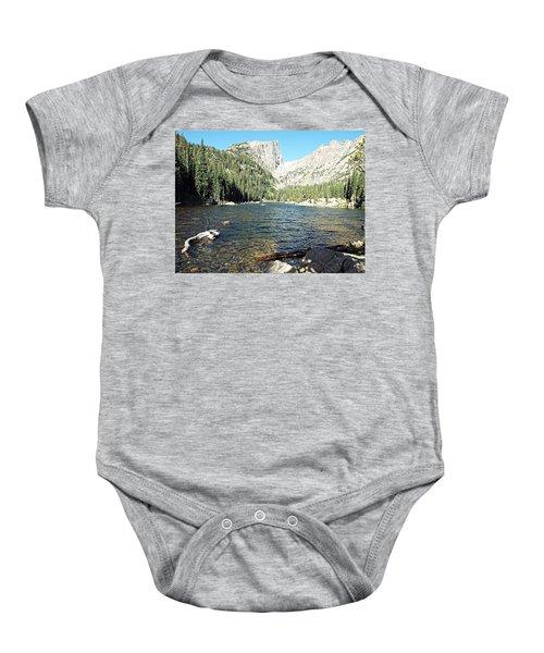 Dream Lake - Rocky Mountain National Park Baby Onesie
