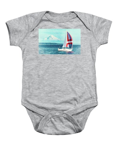Dream Of Sailing Baby Onesie