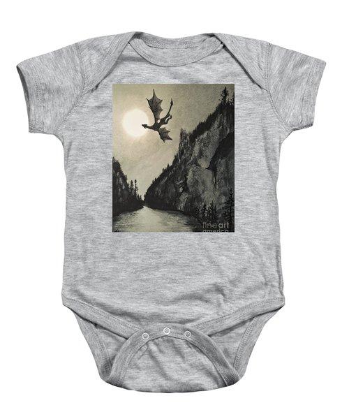 Drogon's Lair Baby Onesie