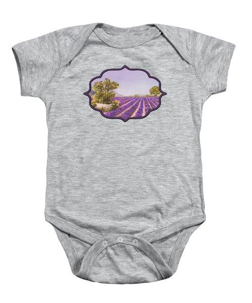 Drome Provence Baby Onesie