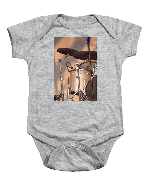 Drum Set Baby Onesie