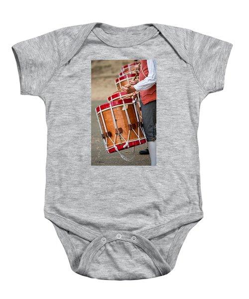 Drums Of The Revolution Baby Onesie