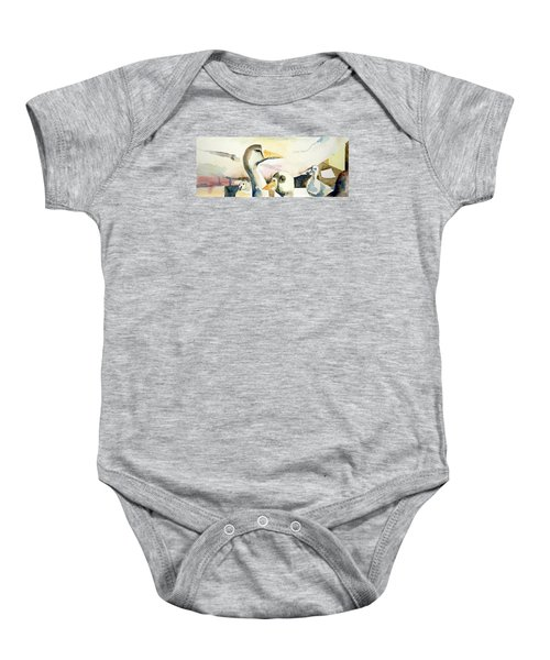 Ducks And Geese Baby Onesie