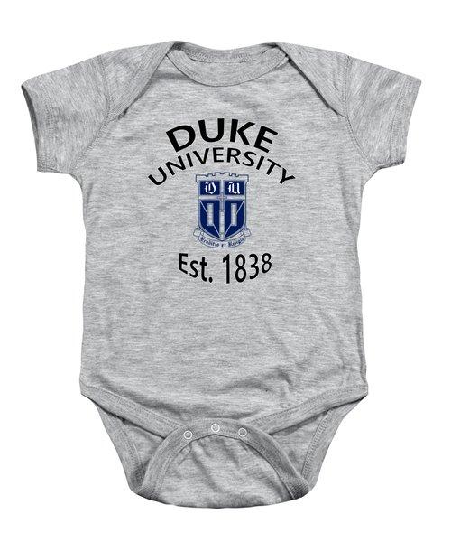 Duke University Est 1838 Baby Onesie