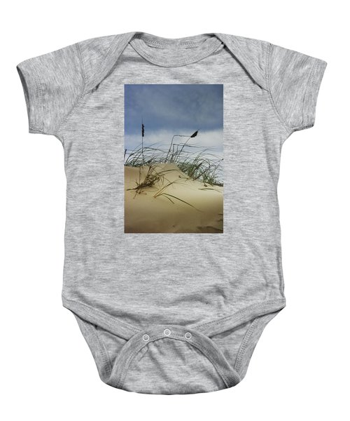 Dune And Beach Grass Baby Onesie