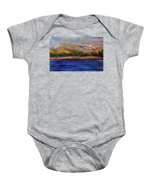 Dunes At Pilgrim Lake Baby Onesie
