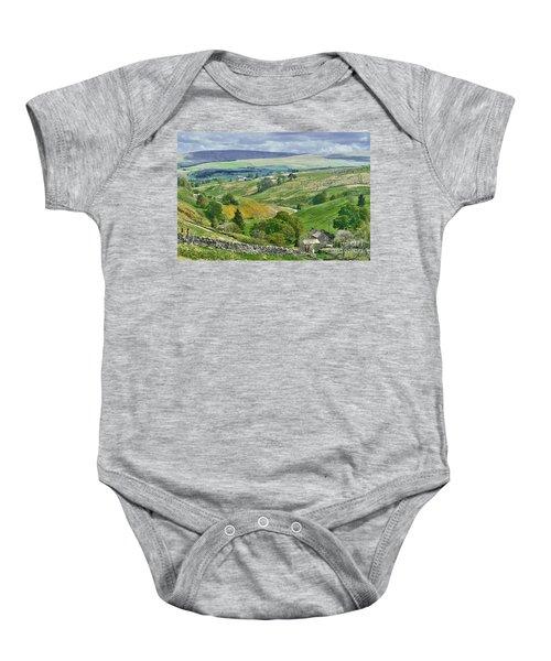Durham Dales Countryside - Weardale Baby Onesie