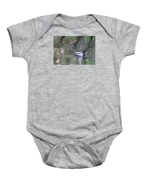 Duck Patterns Baby Onesie