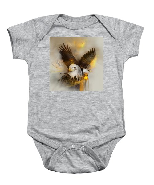 Eagle Pair Baby Onesie