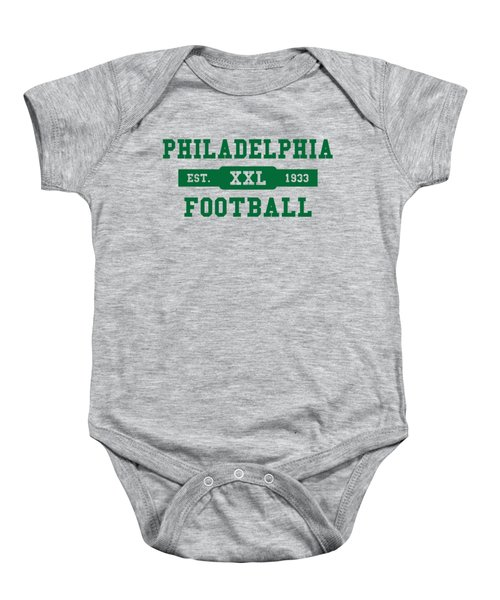 Eagles Retro Shirt Baby Onesie by Joe Hamilton