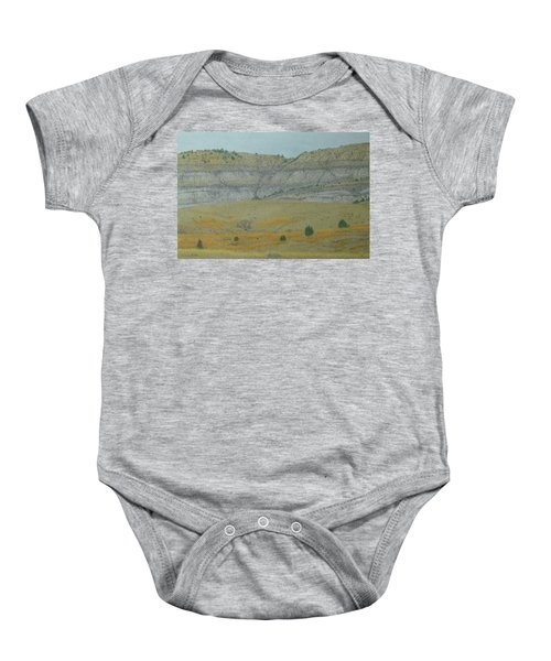 Early May On The Western Edge Baby Onesie
