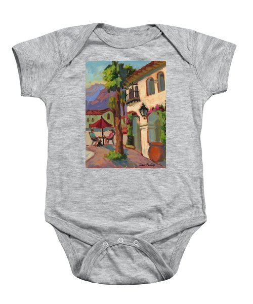 Early Morning Coffee At Old Town La Quinta Baby Onesie