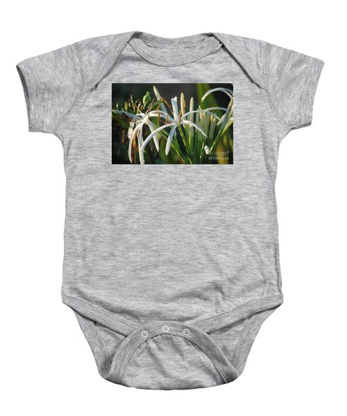 Early Morning Lily Baby Onesie