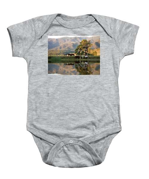 Early Morning Rendezvous Baby Onesie