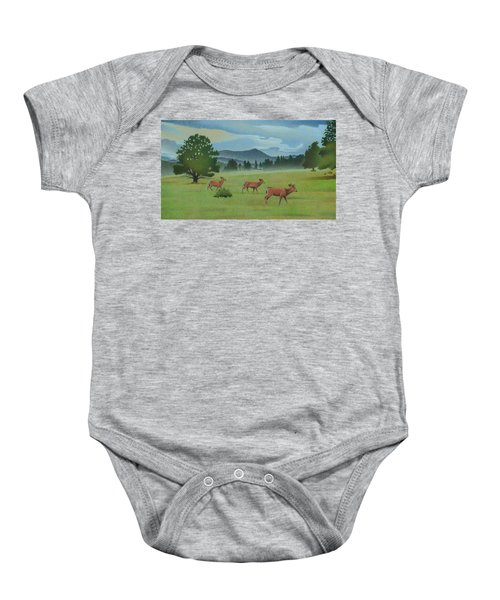 Early Spring Evergreen Baby Onesie