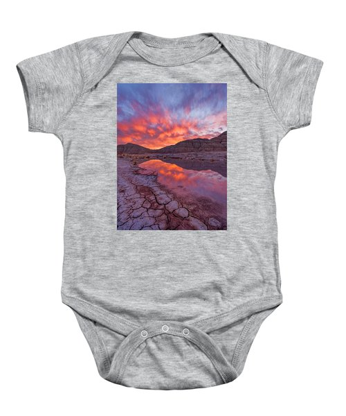 Earth Scales Baby Onesie