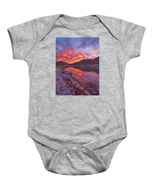 Earth Scales Baby Onesie