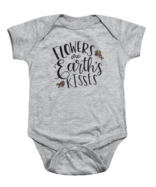 Earths Kisses Baby Onesie