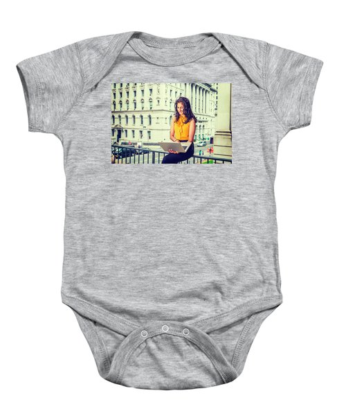 East Indian American Businesswoman In New York Baby Onesie