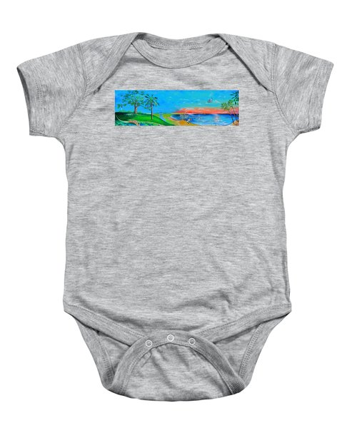 East Of The Cooper Baby Onesie