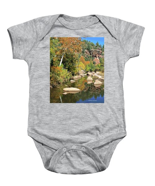 East Verde Fall Crossing Baby Onesie