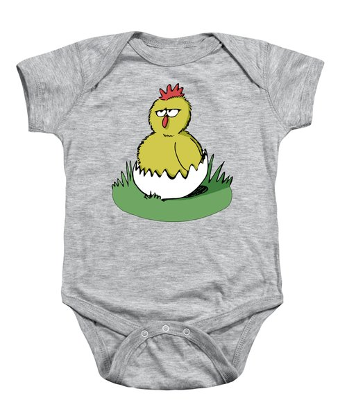 Easter Chicken Baby Onesie