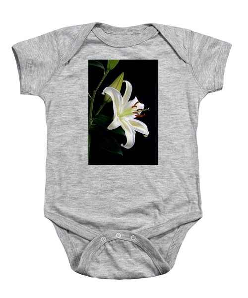 Easter Lily 5 Baby Onesie