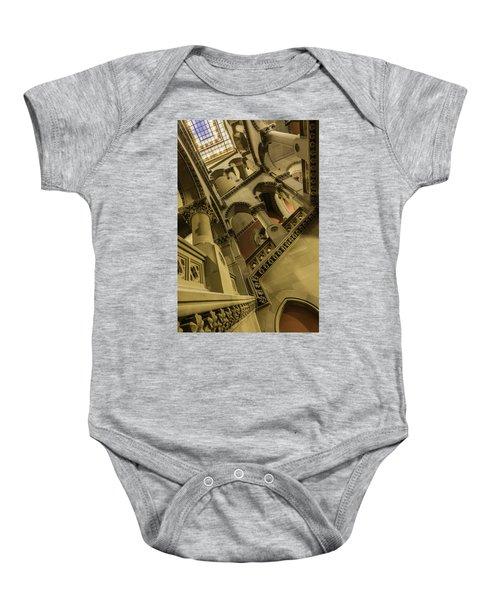 Eastern Staircase Baby Onesie