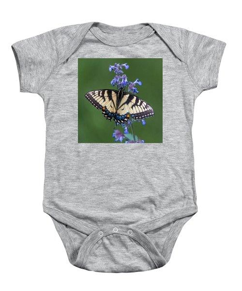 Eastern Tiger Swallowtail Wingspan Baby Onesie