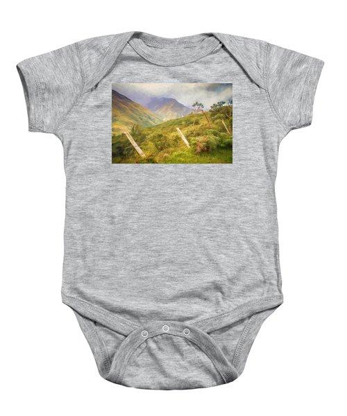 Ecuadorian Mountain Forest Baby Onesie