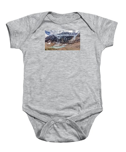 Edith Cavell Landscape Baby Onesie