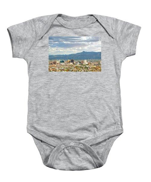 El Paso Texas Downtown View Baby Onesie