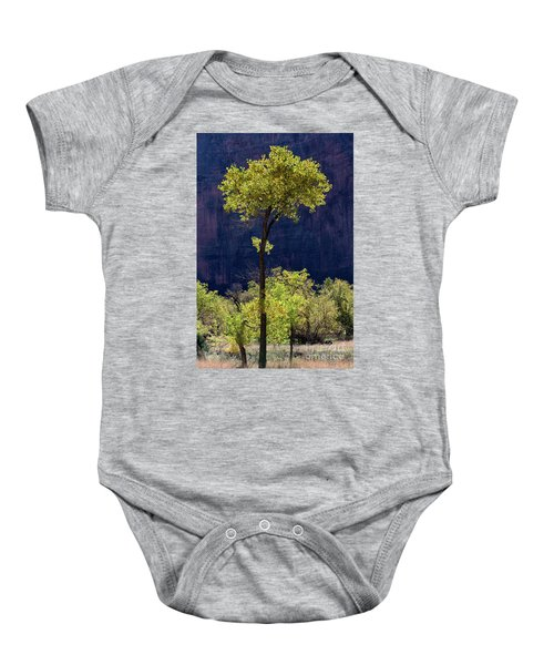 Elegance In The Park Utah Adventure Landscape Photography By Kaylyn Franks Baby Onesie