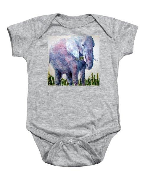 Elephant Sanctuary Baby Onesie