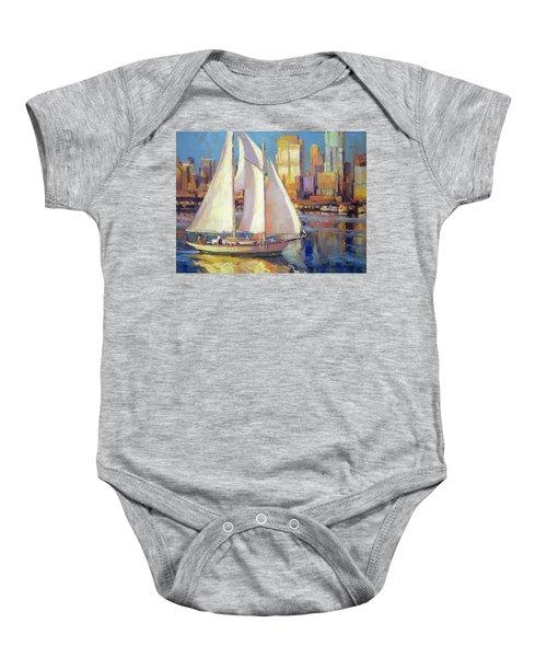 Elliot Bay Baby Onesie
